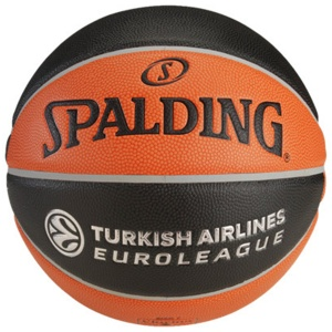 Мяч баскетбольный Spalding TF-1000 Legacy Euroleague Official Bail