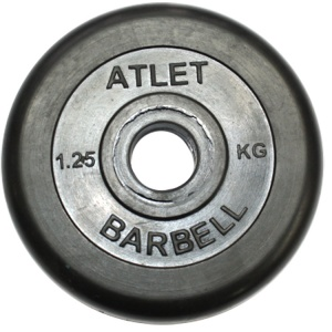 Диск MB Barbell Atlet 1.25 кг 26 мм