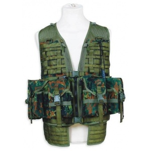 Разгрузочный жилет TASMANIAN TIGER TT Ammunition Vest FT flecktarn 2