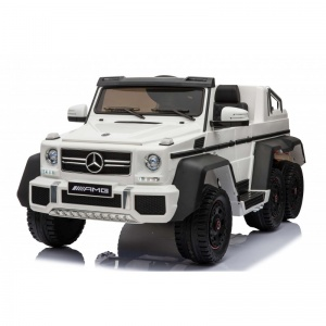 Электромобиль Rivertoys Mercedes-Benz G63 AMG 4WD A006AA белый