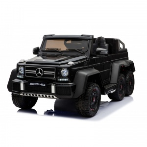 Электромобиль Rivertoys Mercedes-Benz G63 AMG 4WD A006AA черный