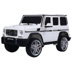 Электромобиль Rivertoys Mercedes G65 AMG 4WD белый