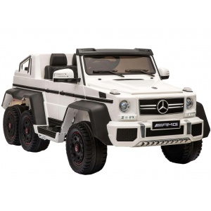 Электромобиль Rivertoys Mercedes-Benz AMG G63 4WD X555XX белый