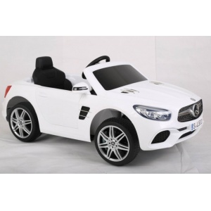 Электромобиль Rivertoys Mercedes-Benz SL500 белый