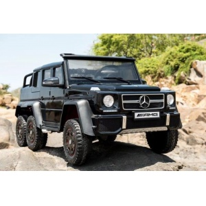 Электромобиль Barty Mercedes-Benz G63-AMG 4WD черный глянец