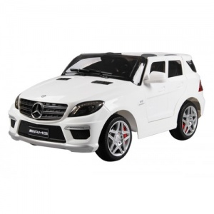 Электромобиль Barty Mercedes-Benz ML63 AMG (DMD-168) белый
