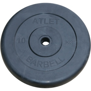Диск MB Barbell Atlet 10 кг 31 мм