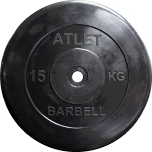 Диск MB Barbell MB-AtletB31-15