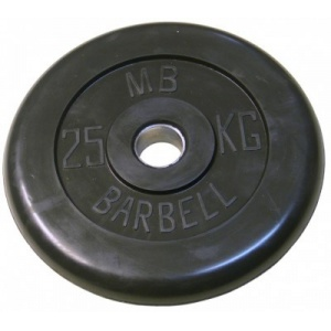 Диск MB Barbell MB-PltB31-25