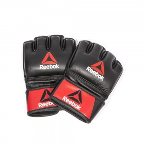 Reebok Combat Leather Glove - Small